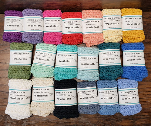 Handmade Cotton Wash Cloths