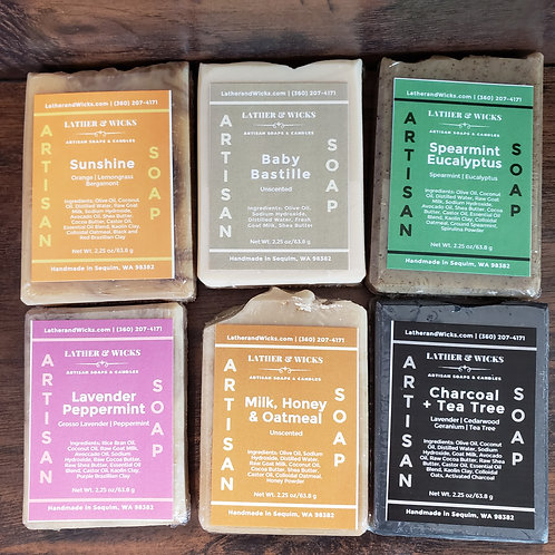 Natual Soap Sampler Collection