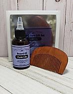 Barber Shop Beard Oil Comb Set