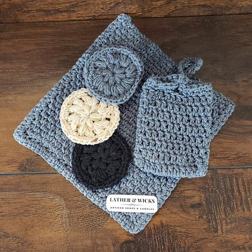 Crochet Bath Gift Set