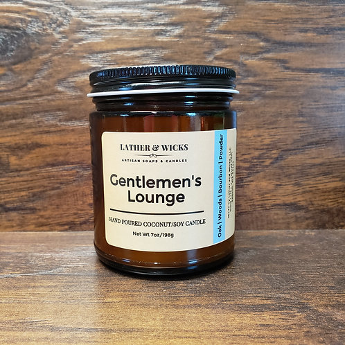 Gentlemen's Lounge Coco/Soy Candle