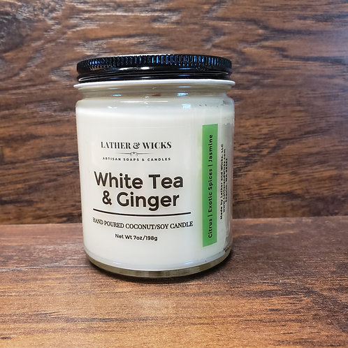 White Tea & Ginger Coco/Soy Candle