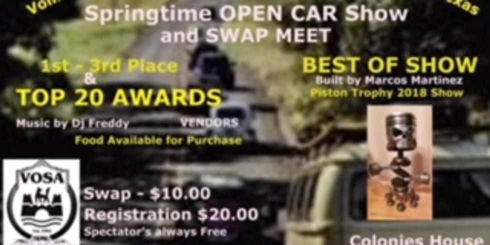 VOSA OPEN SHOW & SWAP MEET 2019