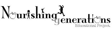 Nourishing Generations Text and Icon Logo