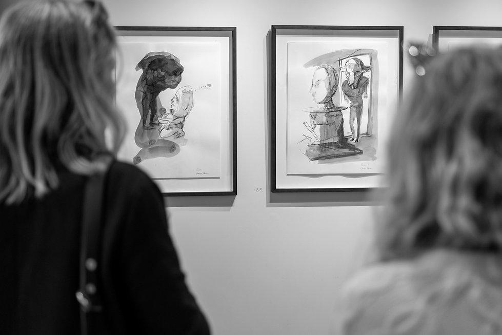 Opening night - Te Auaha Gallery