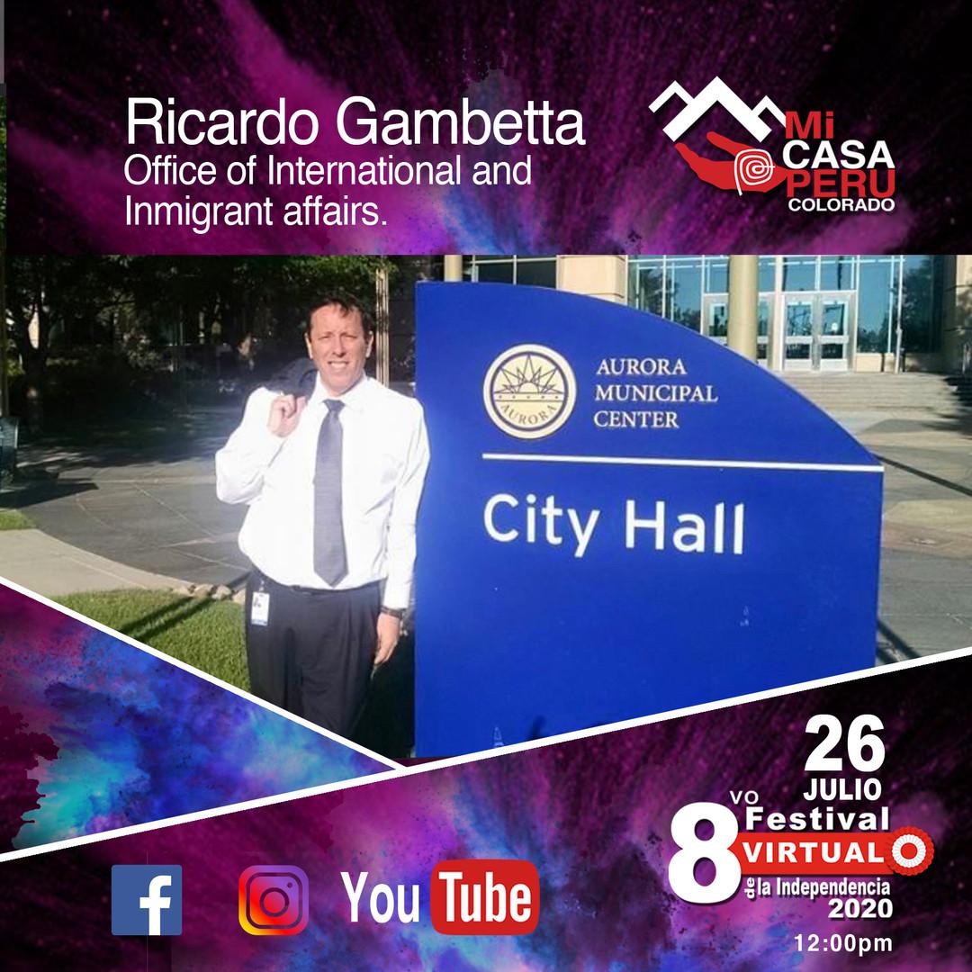 Ricardo Gambetta.