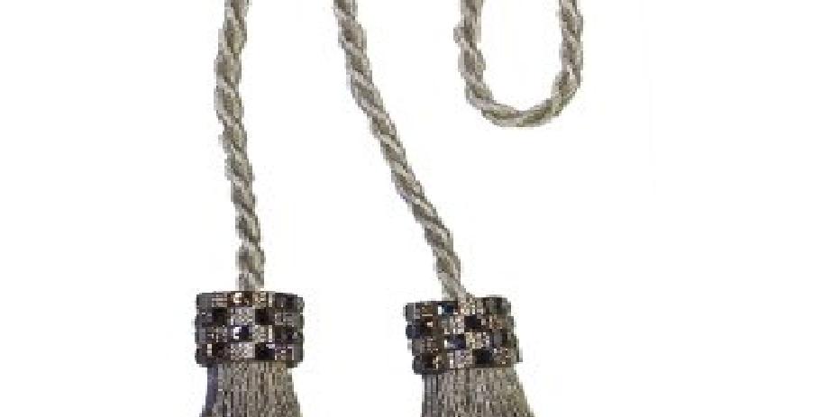 Cordão Infinity Mini Franjas   Bella arte   Prata