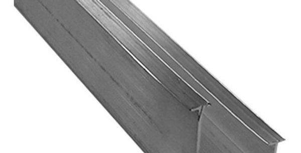 Trilho alumínio duplo para persiana