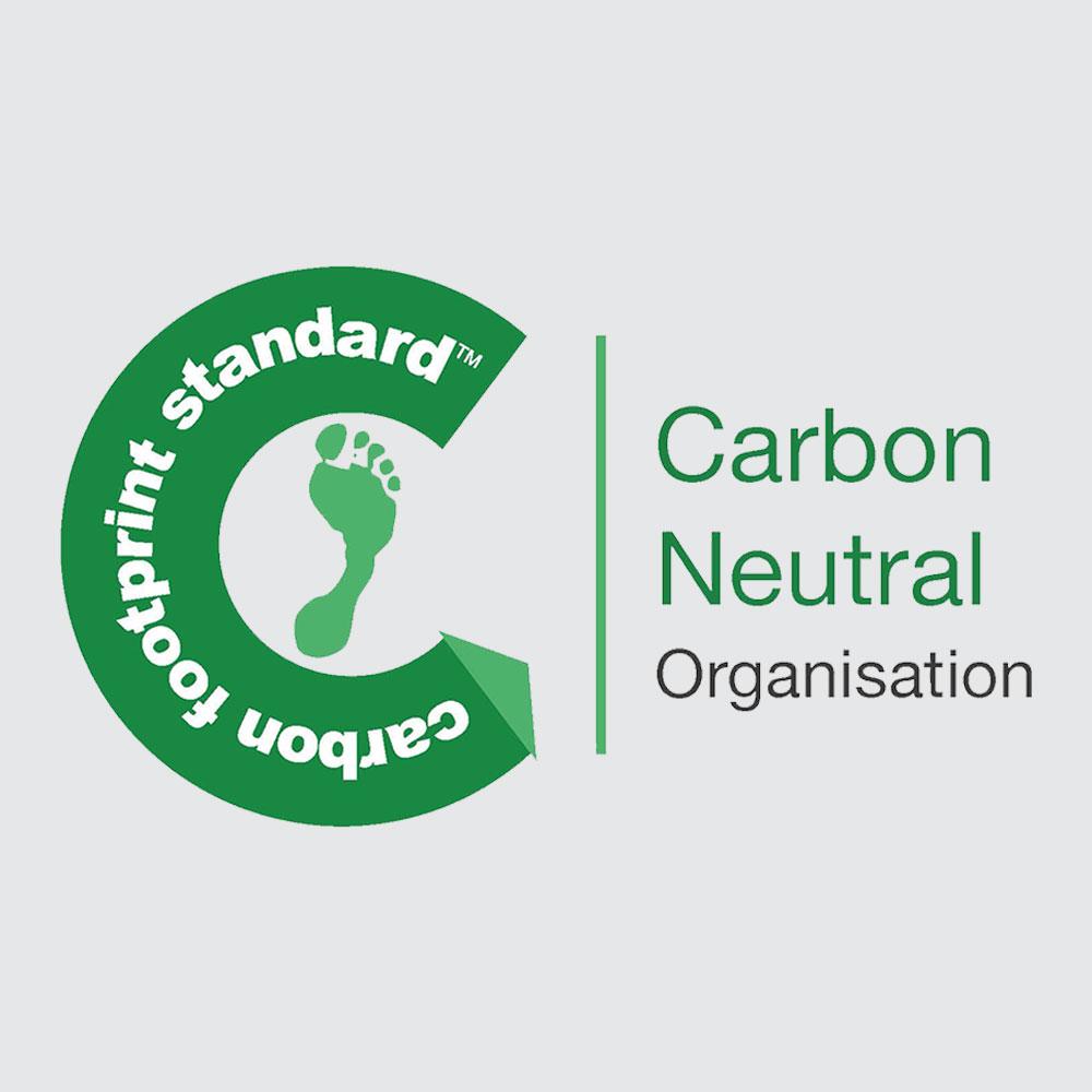als eerste volledig carbon neutraal