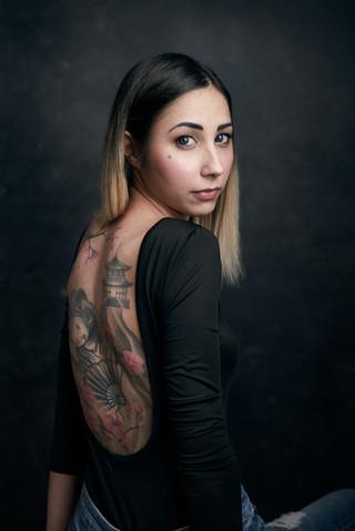 Pubblicità tatuaggio tatuatore fotografo