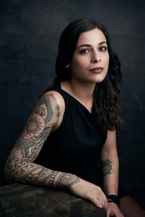 Fotografo pubblicitario tatuaggio tatuat