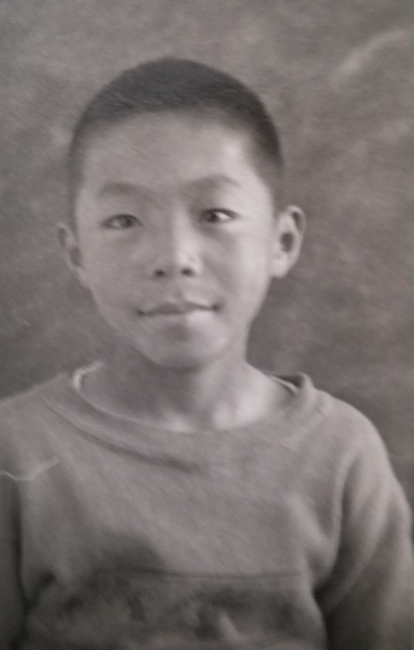 Sam (Isamu) - age 6 (ca. 1933)