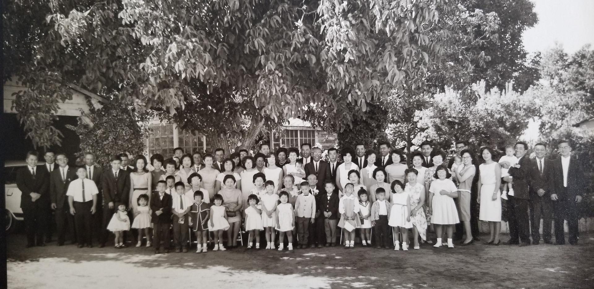 Itaya Family (ca. 1963), includes 4 generations of the Itaya family
