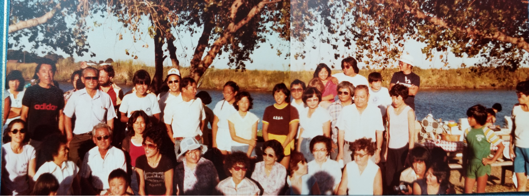 Itaya Family Reunion (ca. 1979 Brannan Island, SF, CA)