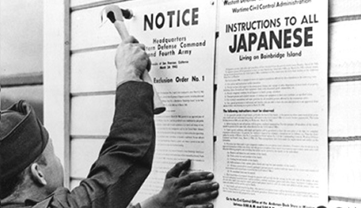 Japanese Executive Order forcing relocation of Japanese American citizens (ca. 1942)