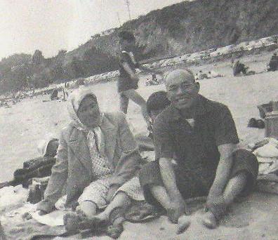 Yasutaro and Tsune at annual Itaya Family reunion