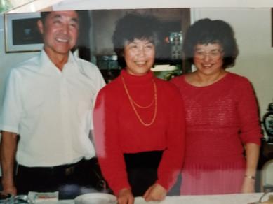 Sam, Eiko, and Jane (ca. 1990)