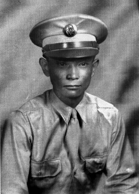 George Itaya, Army  F Company, 2nd Regiment, 442nd RCT (ca 1944)