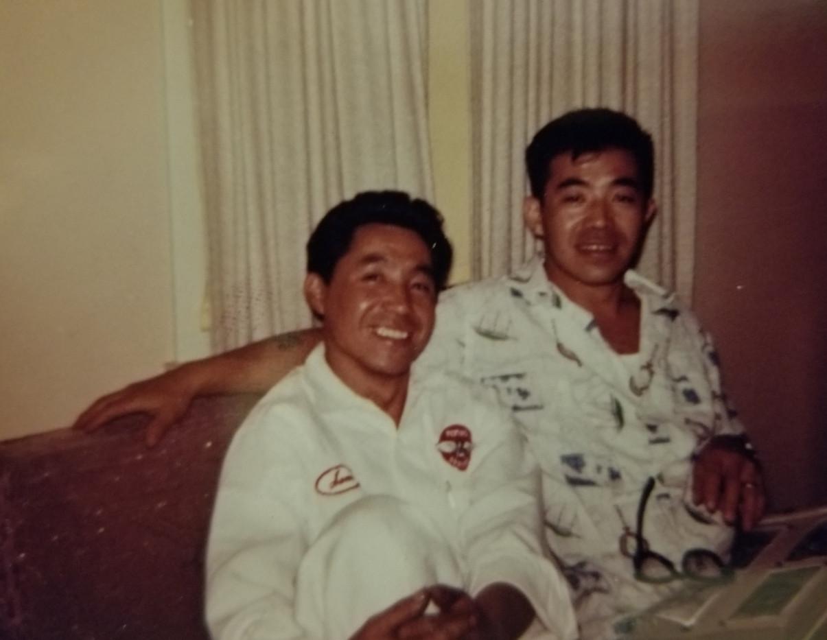 Isamu (Sam) and Noboru (James) (ca. 1956)