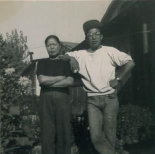 James and mom, Mumeno