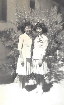 Jane and Eiko (ca. 1945)
