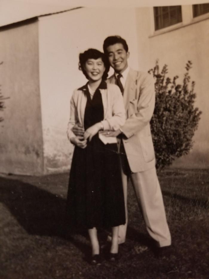 James and Eiko (ca. 1950)