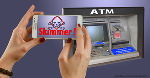 How to avoid ATM card skimming