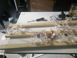 fabrication galerie et rampe ventilateurs