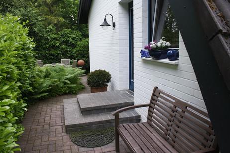 Eingangsbereich | Ferienhaus Tietjen Worpswede