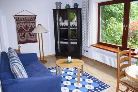 Ess- und Wohnbereich | Ferienhaus Tietjen Worpswede