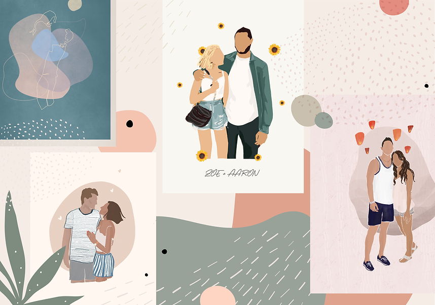 portfolio-custom couple illustrations-01