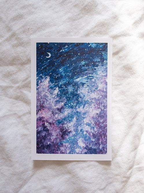 night sky, 01