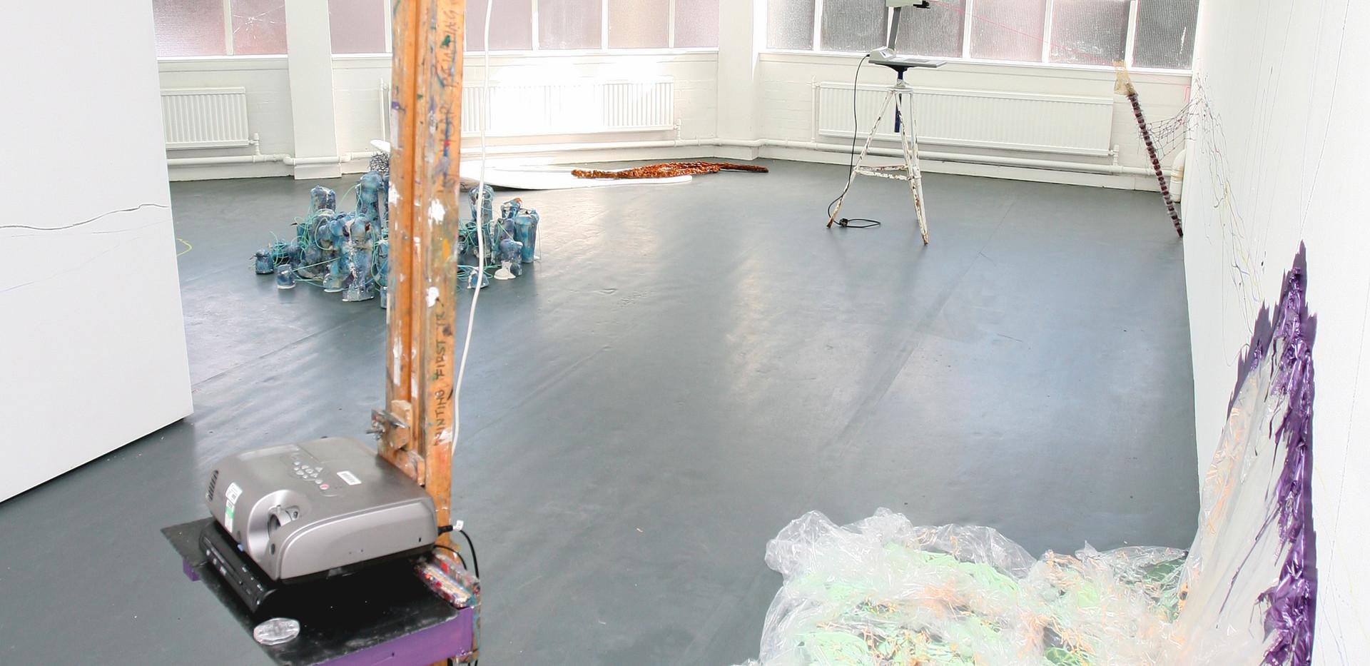 'Separation Anxiety' installation shot 2009