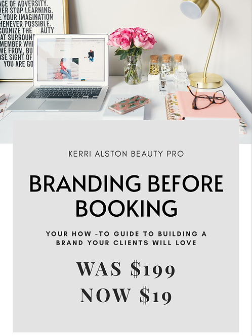 Branding Before Booking