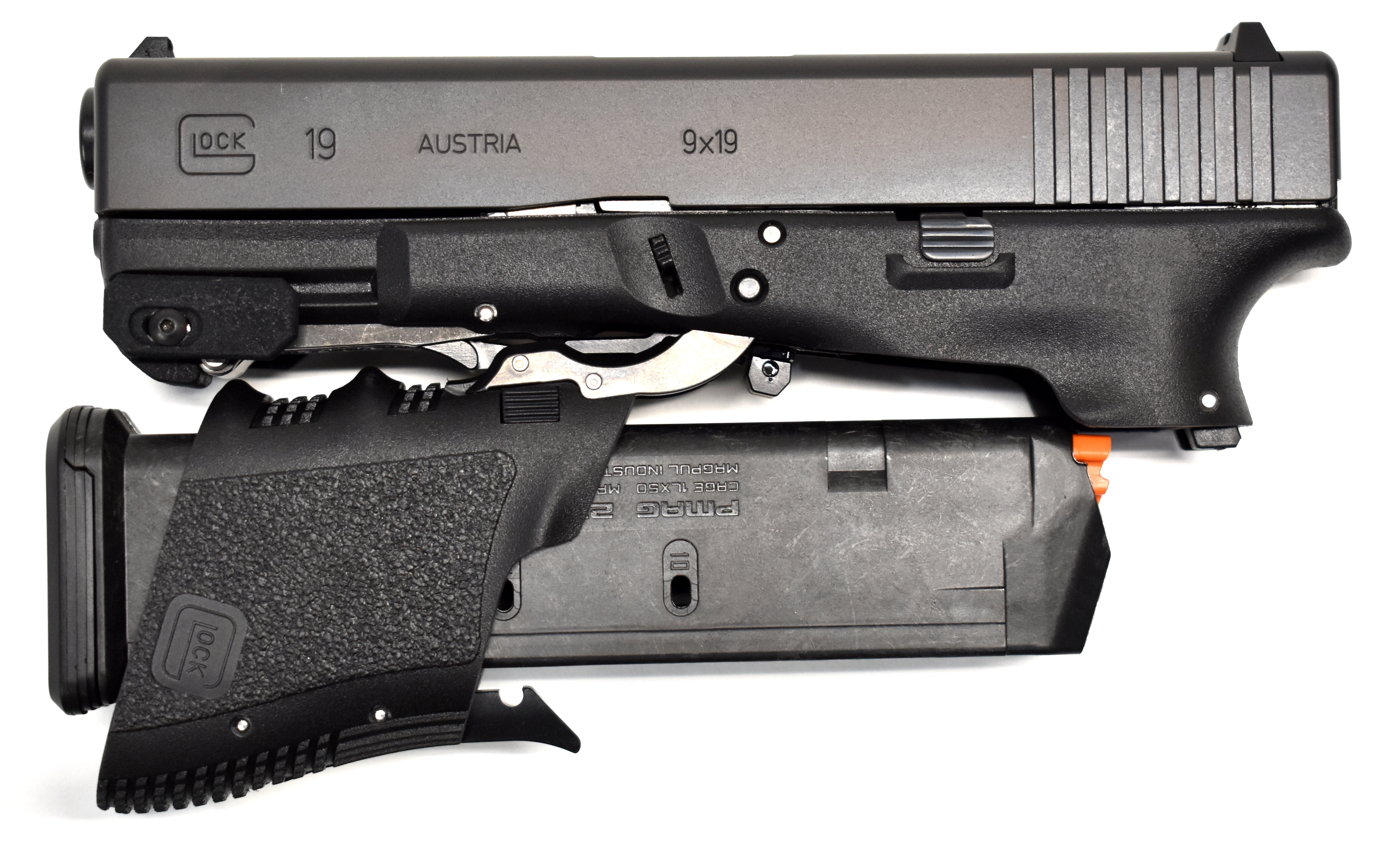 M3D Pistol - Glock 19 (Gen 3) Pistol w/ M3D Modification