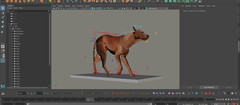 Major Personal Project: Creature Animation