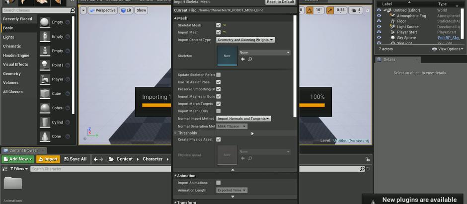 Unreal Engine Implementation!