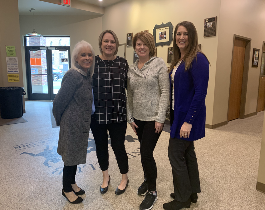 With The Sandy Club as a member of the Board of Directors with founder Linda Saville, executive director Shalome Orton, and Sandy City Council member Houseman
