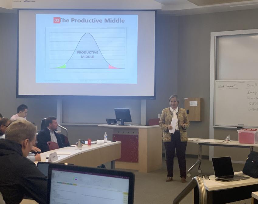 U of U Leadership class with guest lecturer Natalie Gochnour