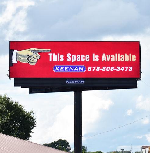 Digital Billboard I-20 Westbound Atlanta