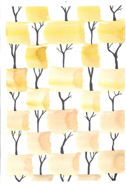 trees 3 - 18cm x 12.5cm