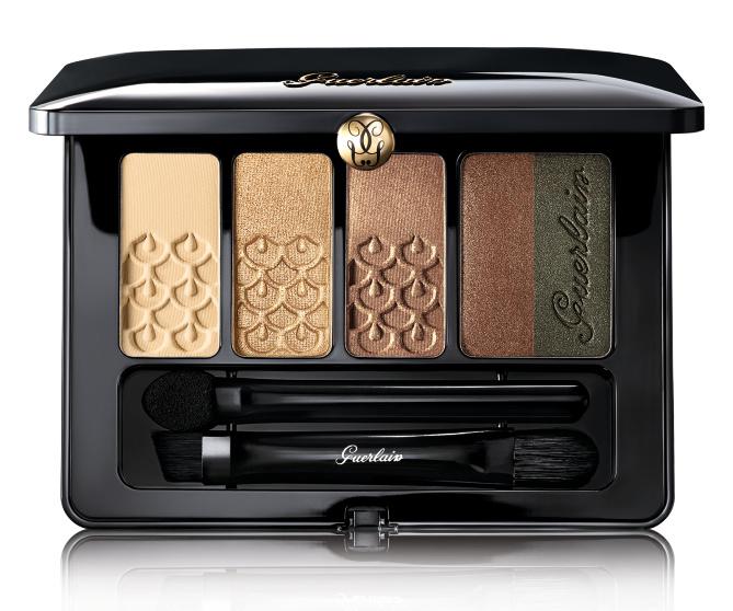 Con estos delicados colores puedes obtener un look llamativo y sofisticado. Palette 5 Couleurs, de Guerlain. $69. Sephora.com.