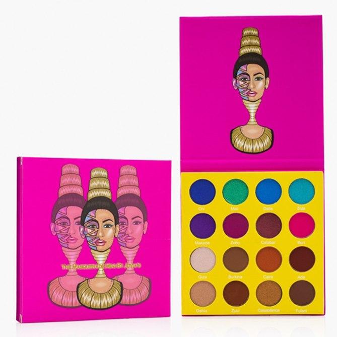 Si eres más atrevida a la hora de maquillarte necesitas este set de inmediato. Con estos tonos lograrás un look de impacto. The Masquerade Palette, de Juvia's. $39.99. Juviasplace.com.