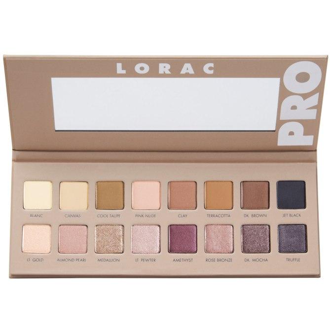 Colores suaves y femeninos que prometen darle a tus ojos en toque de color perfecto. Pro Palette 3, de Lorac. $44. Ulta.com.