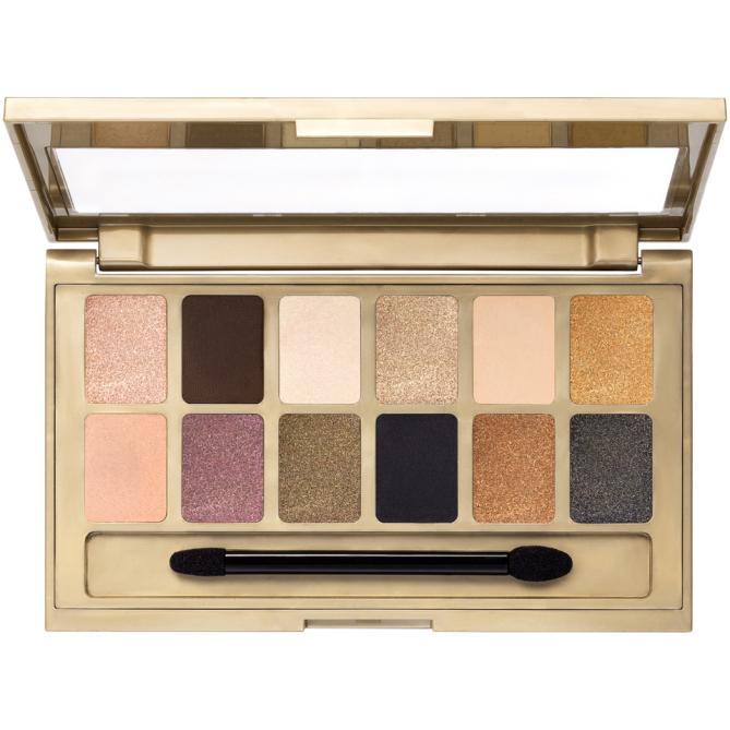 Una paleta con los colores necesarios para lograr un look elegante y moderno. The 24k Nudes Eyeshadow Palette, de Maybelline. $11.99. Maybelline.com.