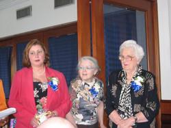 Community Service Awards Luncheon 6-10-06  Linda Dianto, Kathleen Hanna, Leonia