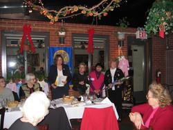 Holiday Party December 13,2006  Mildred Josefson, Paula Orin, Linda Dianto, Bren