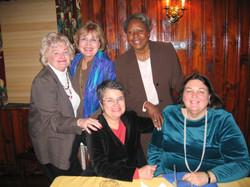 Domestic Violence Prevention Dinner Oct. 26, 2005 Dee Carroll, Dot McNamara, Jan