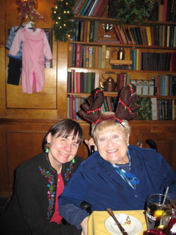 Holiday Party December 9, 2010 Eileen Jackson, Bobbi Wailes.jpg