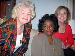 Pre District 1 Meeting Event  10-24-08 Dee Carroll, Lenore Scurry, Dot McNamara